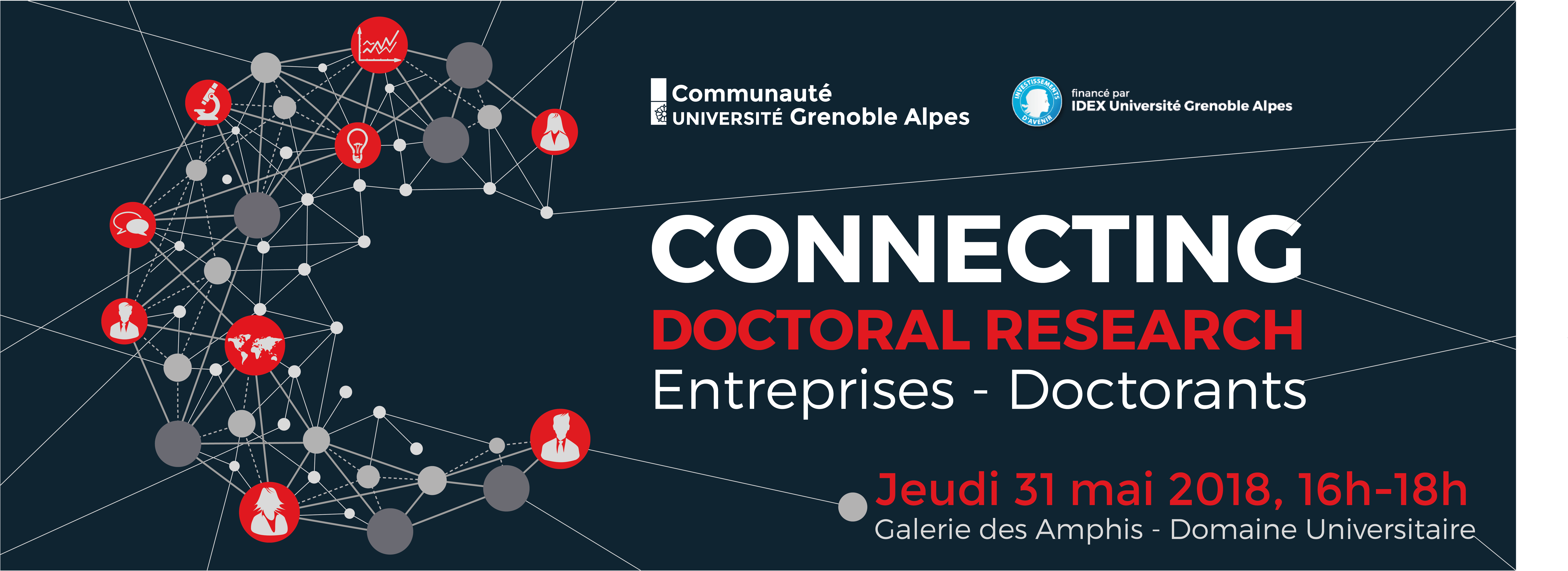 bannière connecting doctoral research